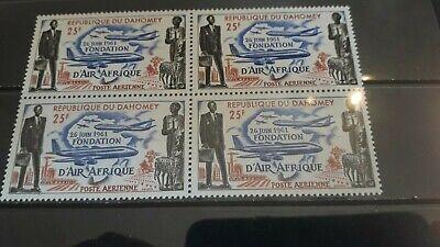 Dahomey 1962 SG163 X 4 Unmounted Mint