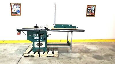 G0652 Ai Grizzly 10 Cabinet Saw Wtables - 5 Hp - Used Machine