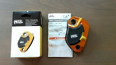 PETZL, PRO TRAXION, Capture Pulley, Climbing, Caving Hardware