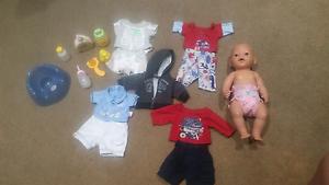BABY BORN Doll & accessories. Buddina Maroochydore Area Preview