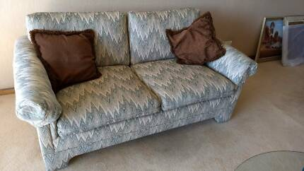 Two 2 Seater Lounges