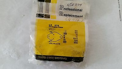 Sss Lx274 Silicon Npn Transistor Darlington Power Amplifier Switch Ecg274 Nte274