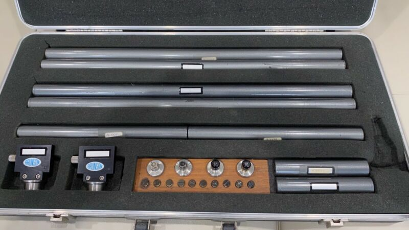 Brunson 803C Invar scale extension kit optical tooling
