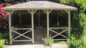 outdoor wooden gazebo Wahroonga Ku-ring-gai Area Preview