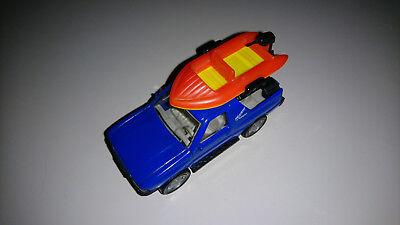 Siku Super 1354 Opel Frontera 2.0i Sport mit Boot 1:54 ca
