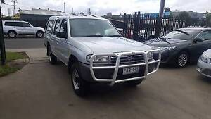 1999 Mazda Bravo Duel Cab Ute TURBO DIESEL 4X4 Williamstown North Hobsons Bay Area Preview