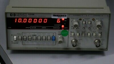 Hp 5316b 100mhz Universal Counter Free Shipping Good