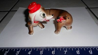 Used, Vintage Dachshund 2 piece Salt & Pepper Shakers *pre-owned* missing one stopper for sale  Miami