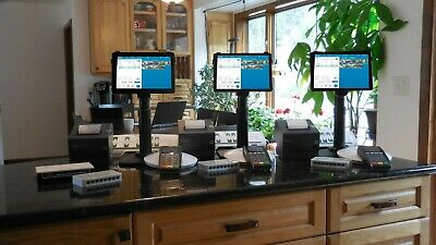Pos System Point Of Sale Restaurant Revel Ipad Pos 3 Stations