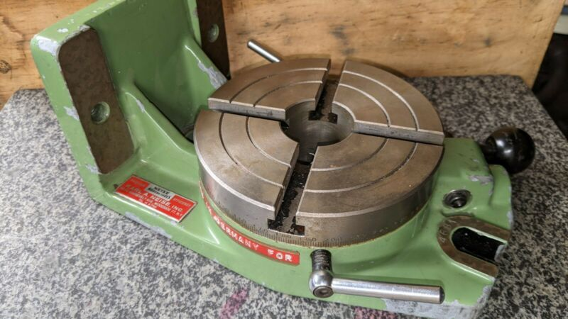 "Karl Neise 5.5"" Rotary Indexing Table"