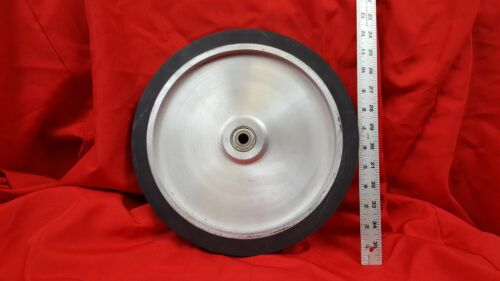 "12"" Soild Contact Wheel for 2x72 Belt Sander Grinder"