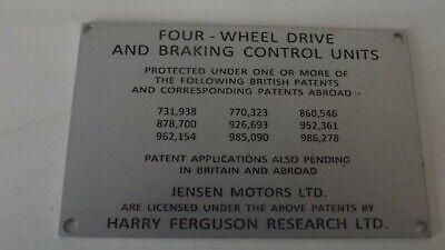 Jensen FF Ferguson Formula Tag