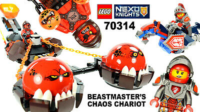 LEGO Nexo Knights 70314 Beast Master's Chaos Chariot USED Complete Box & Mannual