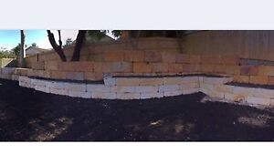 Sand stone retaining Maitland Area Preview