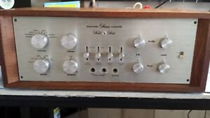 Marantz Model 7T Preamplifier Clean With Wood Cabinet w Original 1967 rcpt/docs