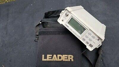 Leader Lf 941 Catv Digital Signal Level Meter Broadcast Vhfuhf