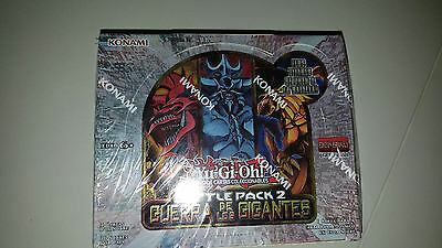 Giants Booster Pack - Yu-Gi-Oh! Battle Pack 2 - War of the Giants Booster Box in SPANiSH - NEW!!!!