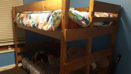 Loft Bed King Single Mid-high Pine- great condition