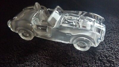 "Hofbauer Shelby Mustang Cobra ""427"" Crystal Car  Plaperweight"