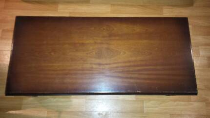 Dark Wood Coffee Table - Good Condition Melton West Melton Area Preview