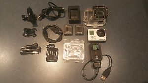 GoPro Hero 3 Black with Accessories Cornubia Logan Area Preview