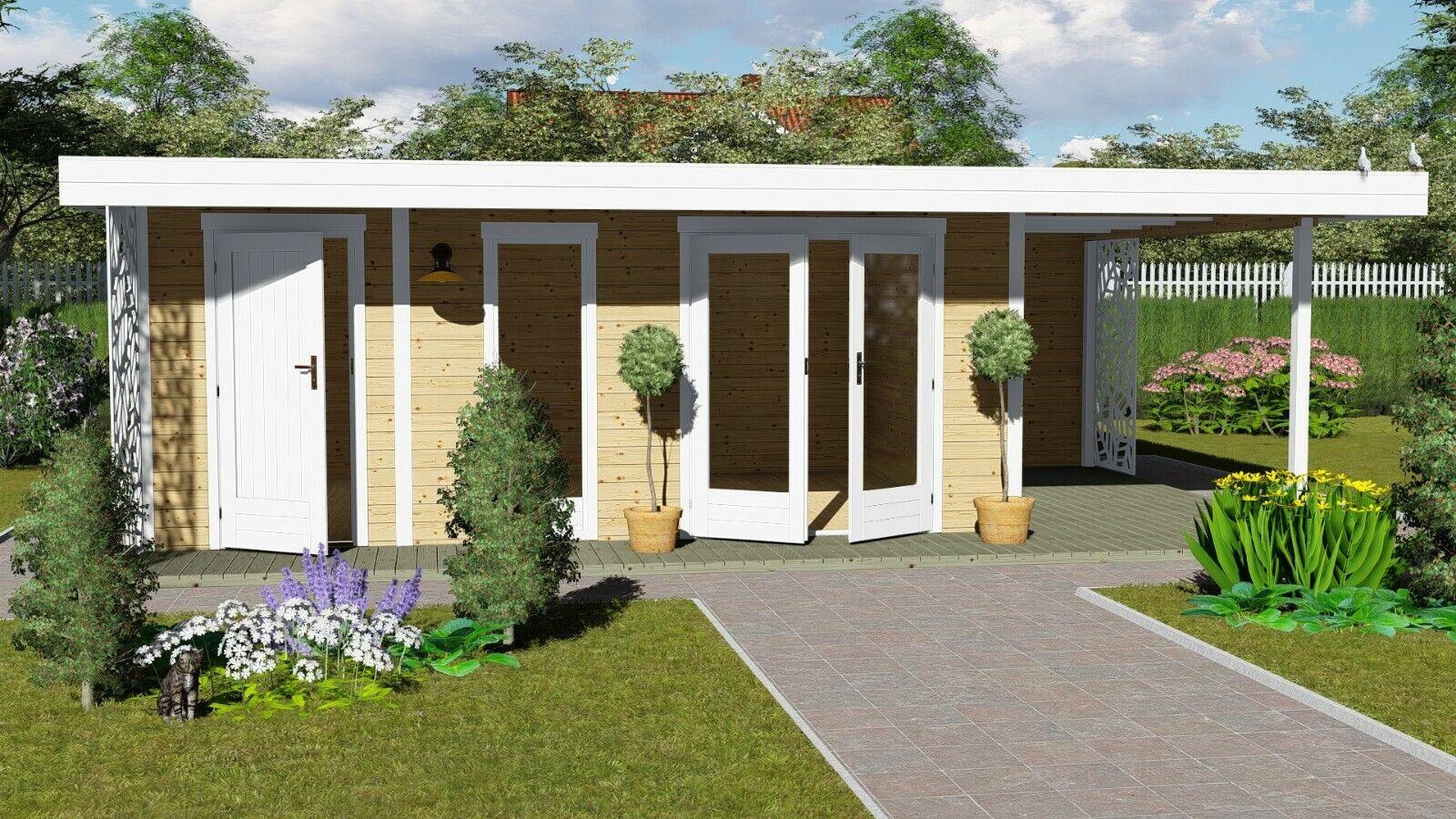 Gartenhaus Mit Flachdach Simple Gartenhaus Flachdach Modern Anbau