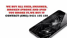 CASH PAID FOR YOUR OLD iPHONE AND iPAD IN ANY CONDITION. Melbourne CBD Melbourne City Preview
