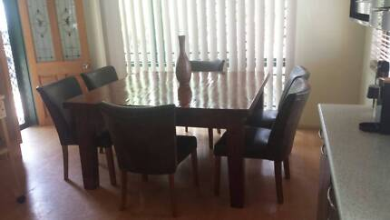 Dining Table With Chairs 180000 Cairns