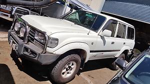 Toyota 80 Series Land Cruiser! 4.5L! Manual! Bullbar! Towbar! Air Southport Gold Coast City Preview