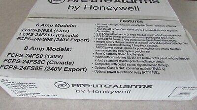Honeywell Fire-lite Alarms Fcps24fs6 6 Amp Nac Power Supply