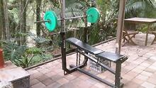 Weights Bench Press with bar and weights Bardon Brisbane North West Preview