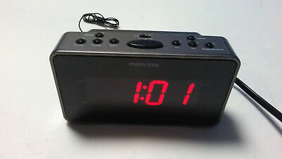 Memorex Soothing Sounds Alarm Clock Radio MC6306BKA