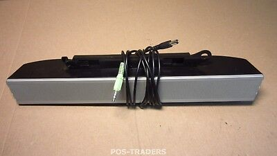 Dell AS501 UH837 Multimedia Speaker Sound Bar Stereo for Monitor 1704FP EXCL PSU