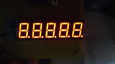 10pcs 0.36 Inch 5 Digit Led Display 7 Seg Segment Common Cathode Yellow 0.36