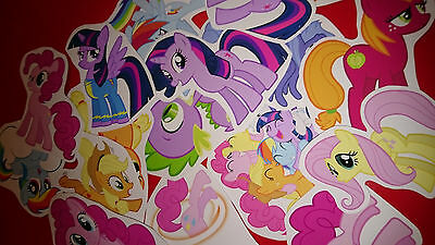 My Little Pony Party Bag Fillers (40 a6 MY LITTLE PONY VINYL STICKERS PARTY BAG)