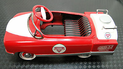 1940s Ford Custom Pedal Car Truck Pickup Rare Vintage Midget Metal Model Art