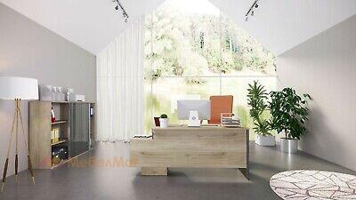 Arredamento ufficio completo modello City 9061 Rovere design moderno