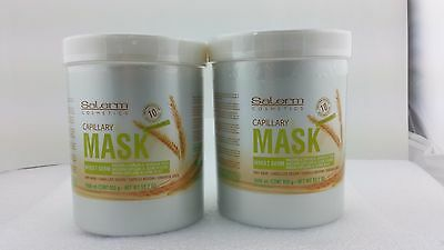 Salerm Wheat Germ Conditioning Treatment(Mascarilla Capilar) 33.7oz (Pack of