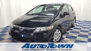 2010 Honda Civic DX/POWER WINDOWS/ACCIDENT FREE/LOW KMS