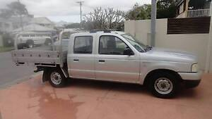 2006 Ford Courier TURBO DIESEL TRAYBACK. Ararat Area Preview