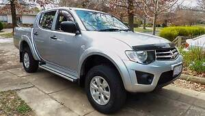 2015 Mitsubishi Triton Ute O'Connor North Canberra Preview