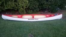 Davenwood Fiberglass Canadian Canoe large family size Yokine Stirling Area Preview