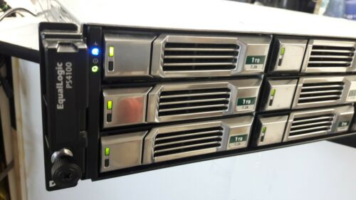DELL EqualLogic PS4100 Model E03J Storage Array with 2 700W PS