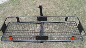 Black foldup car carrier for vehicles used but great shape