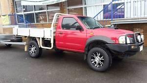 2008 4x4 Nissan Navara single cab Ute Rockhampton Rockhampton City Preview