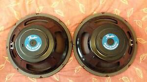 Two Fender 12 inch guitar amp speakers Doonside Blacktown Area Preview