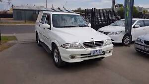 2005 Ssangyong Musso Ute DUEL CAB 4X4 TURBO DIESEL Williamstown North Hobsons Bay Area Preview