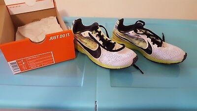 582a341c5f95 Nike Zoom Streak LT 2 - White Volt Black Running Cross Training Unisex Sizes