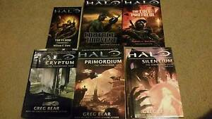 Halo Novels Collection x6 Albany Creek Brisbane North East Preview