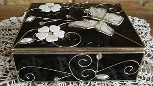 Stunning Butterfly Jewellery or Trinket Box Beaudesert Ipswich South Preview